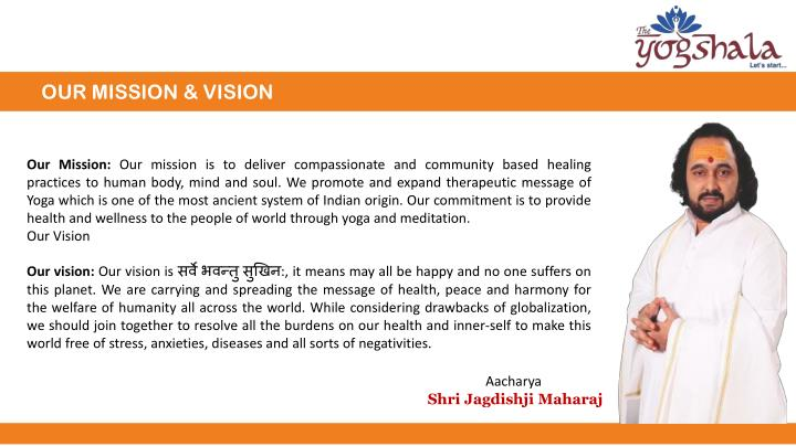 OUR MISSION & VISION