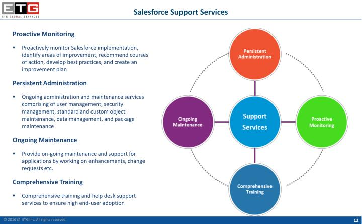 Salesforce Support Services