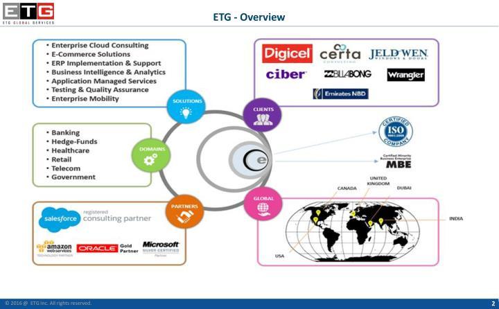 ETG - Overview