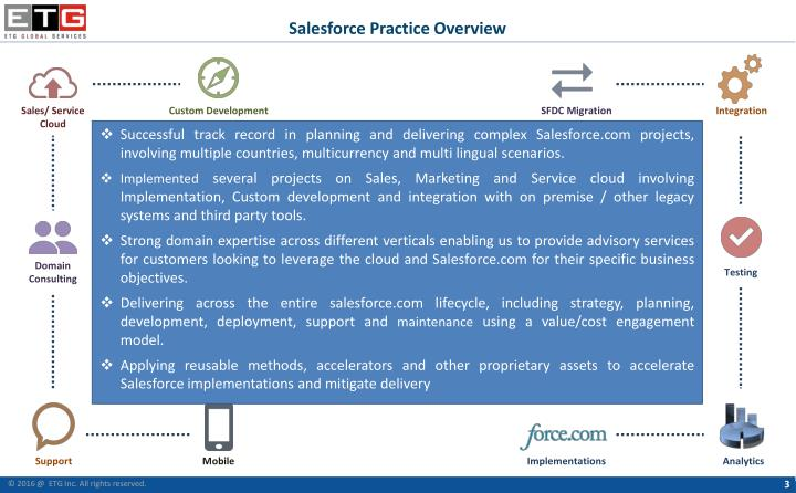 Salesforce Practice Overview