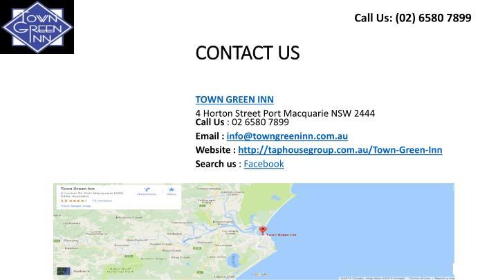 Call Us: (02) 6580 7899