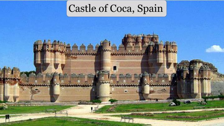 Castle of Coca, Spain