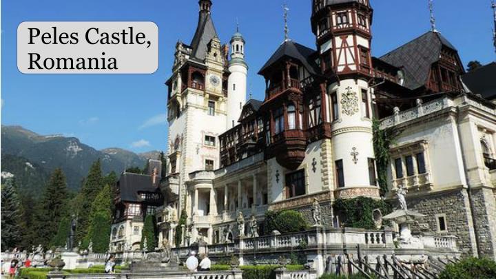 Peles Castle,