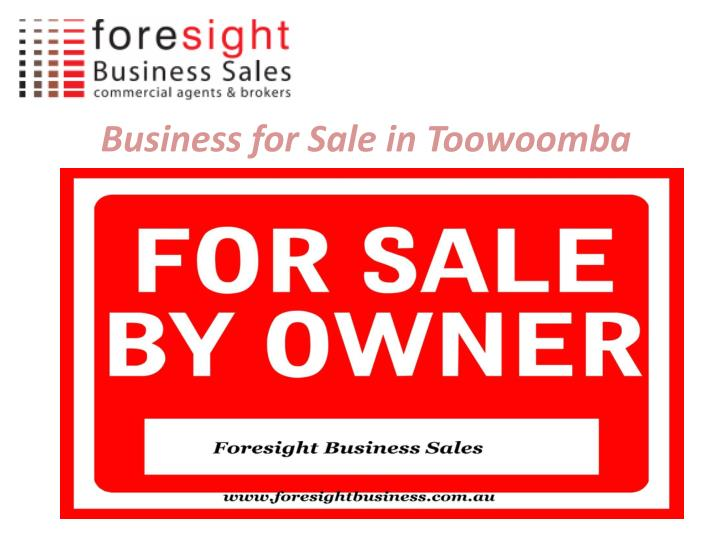 Business for sale in toowoomba1