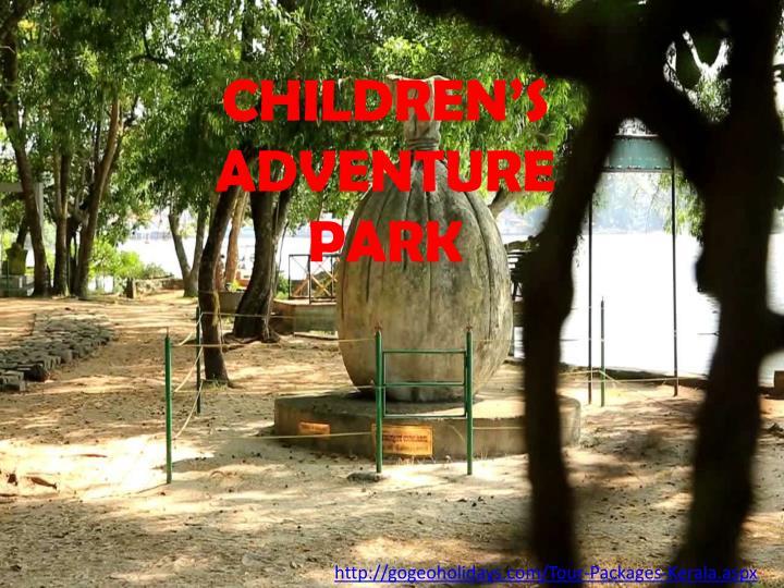 CHILDREN'S ADVENTURE PARK