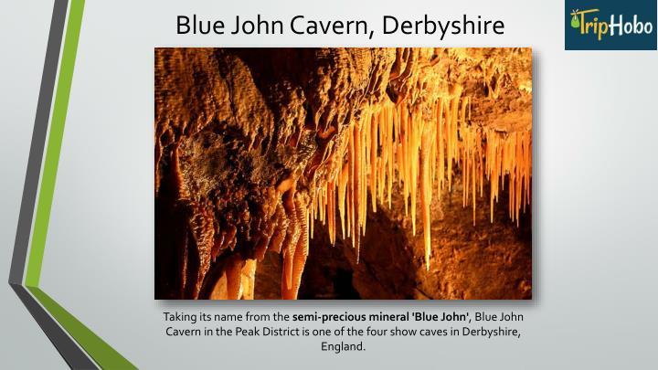 Blue John Cavern, Derbyshire