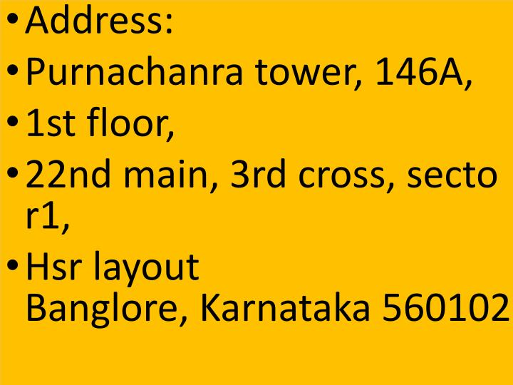 Address: