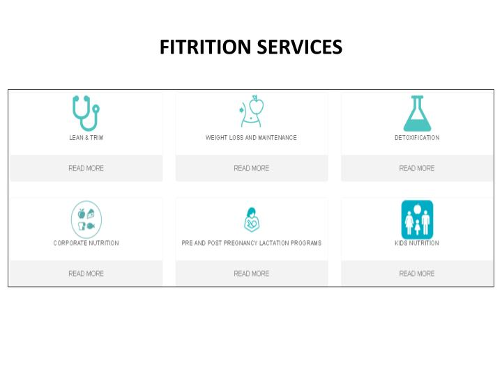 Fitrition services