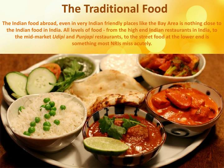 The Traditional Food