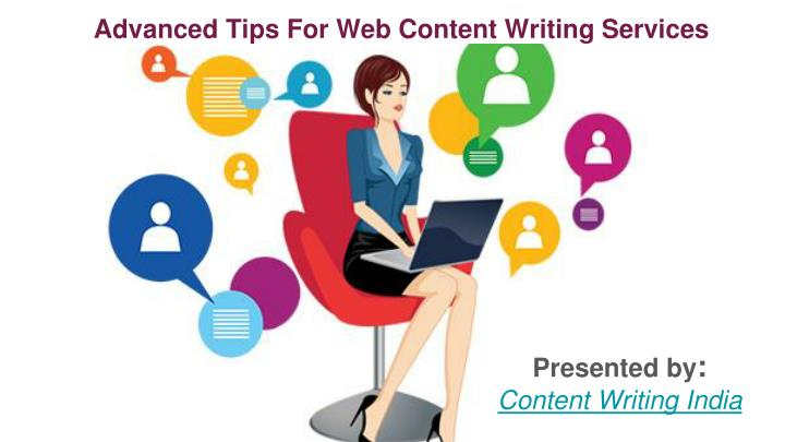 advanced tips for web content writing services