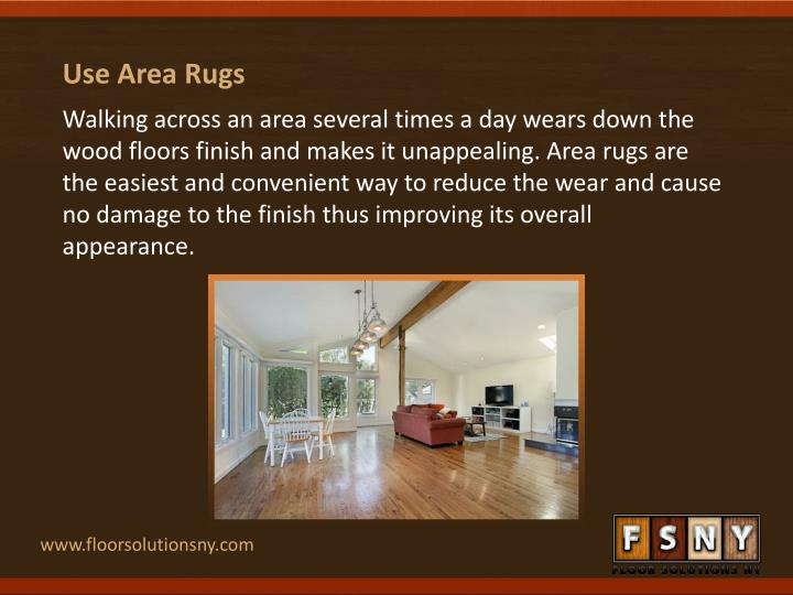 Use Area Rugs