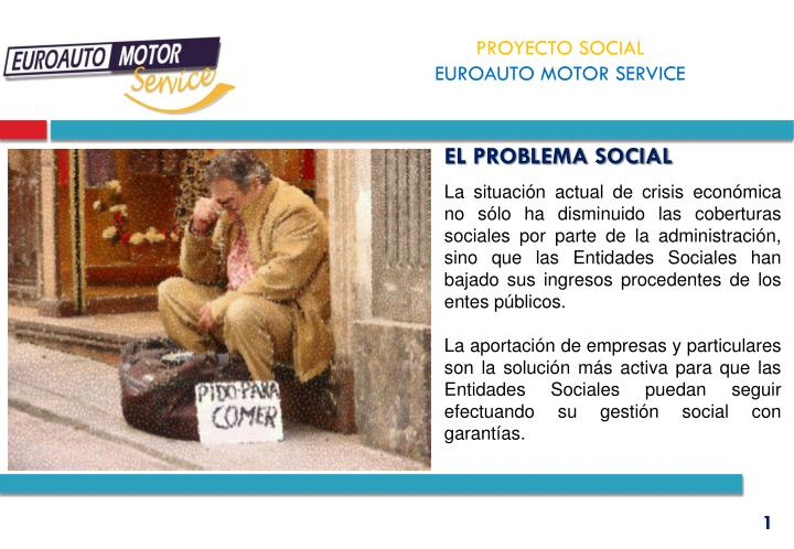 EL PROBLEMA SOCIAL