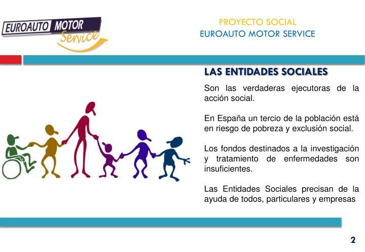 LAS entidades sociales
