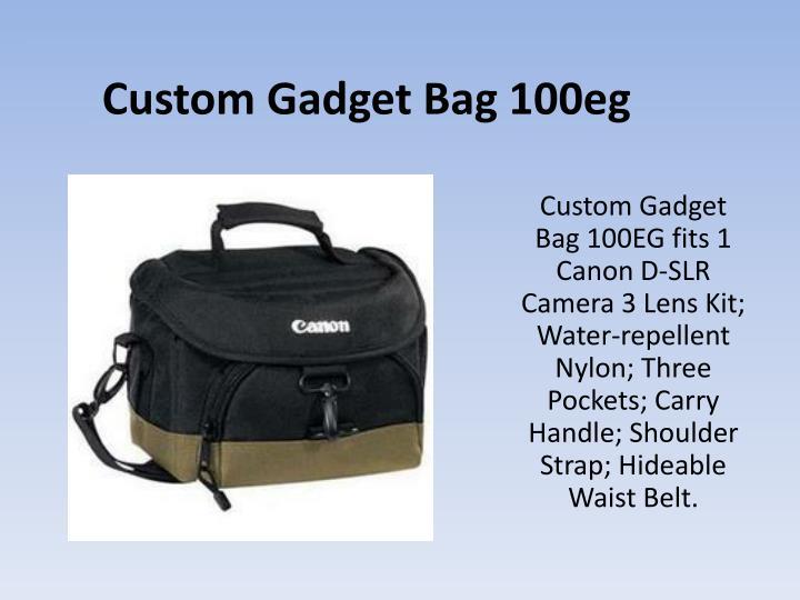 Custom Gadget Bag 100eg