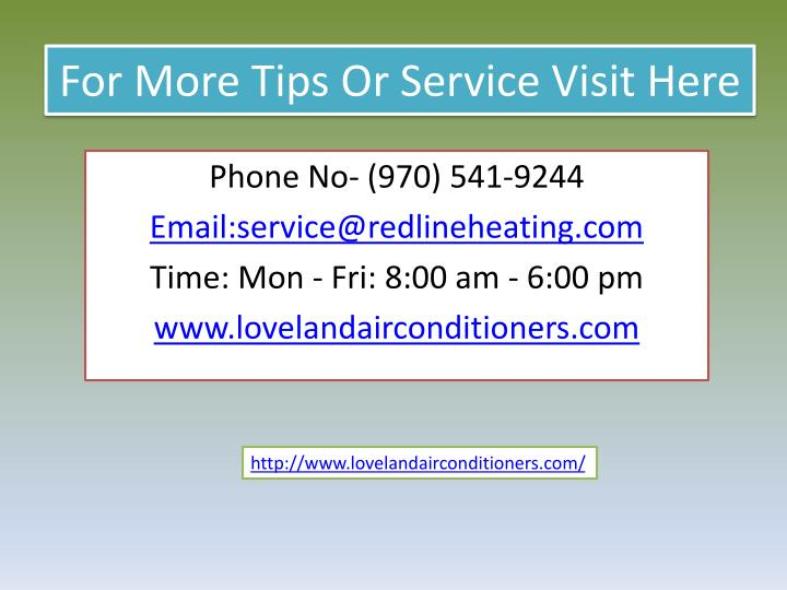 For More Tips Or Service Visit Here