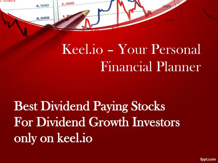 Keel io your personal financial planner