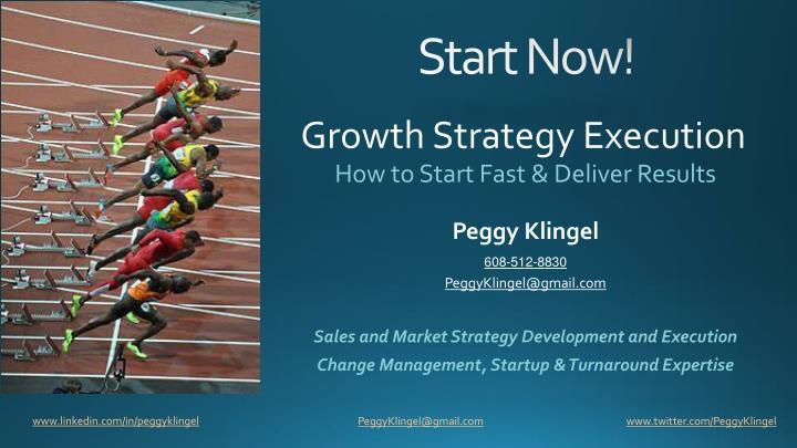 Growth Strategy Execution