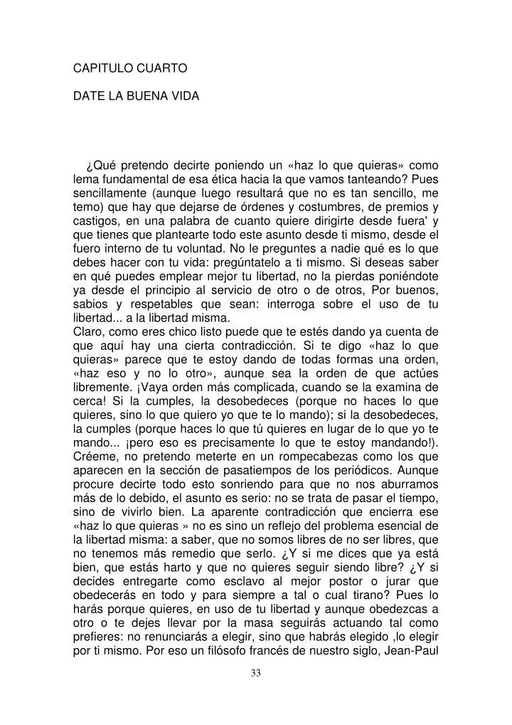 CAPITULO CUARTO