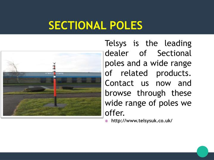 Sectional poles