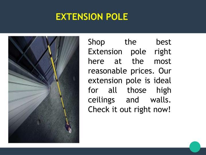 Extension pole