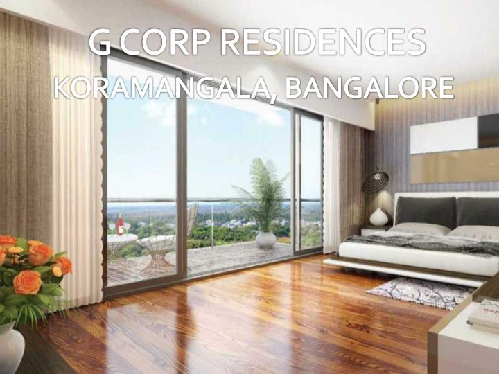 G CORP RESIDENCES