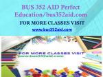 bus 352 aid perfect education bus352aid com1