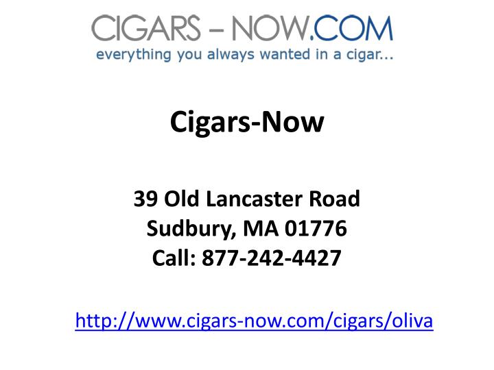 Cigars-Now