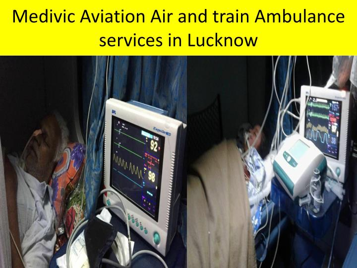 Medivic Aviation Air and train Ambulance