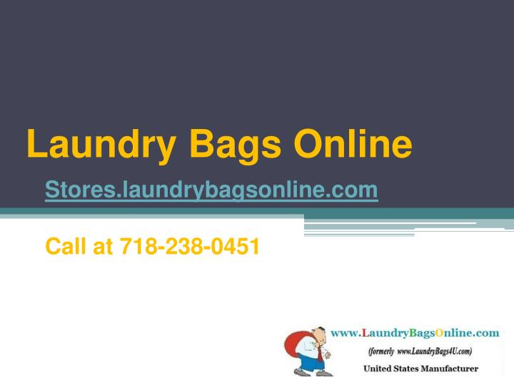 Laundry bags online