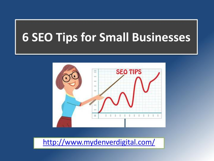 6 seo tips for small businesses