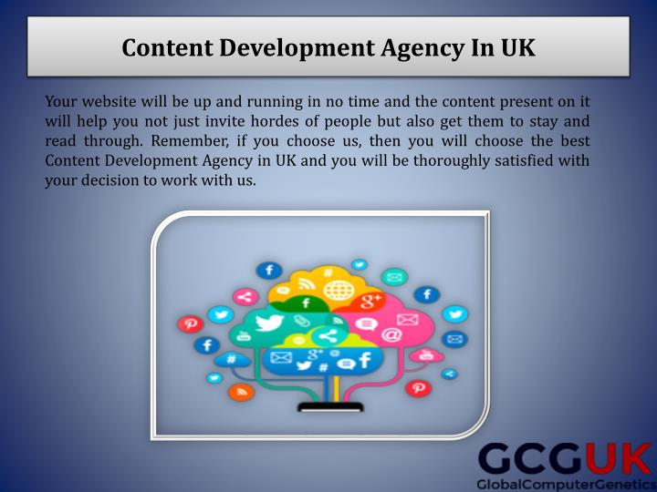 Content Development Agency In UK