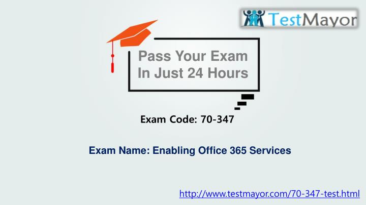 Pass Your Exam In Just 24