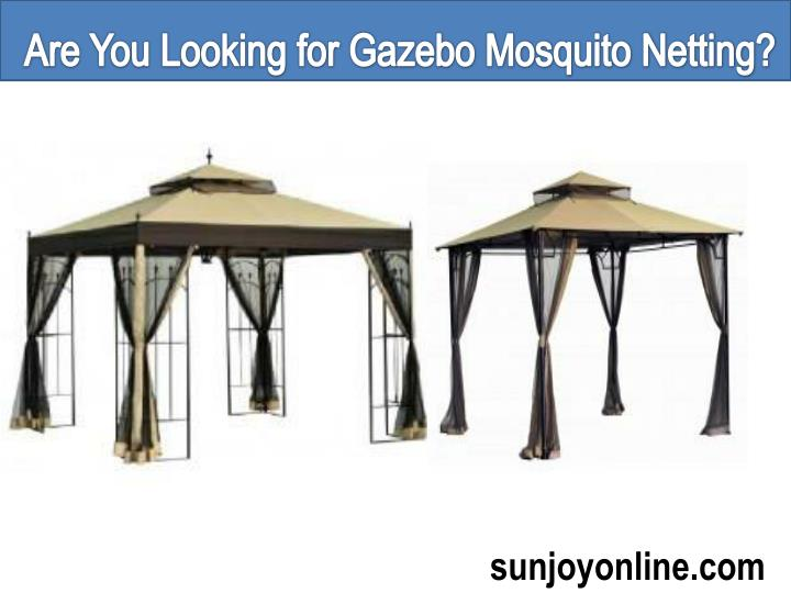 Are You Looking for Gazebo Mosquito Netting?