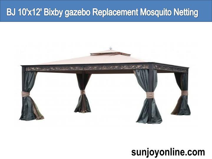 BJ 10'x12' Bixby gazebo Replacement Mosquito Netting