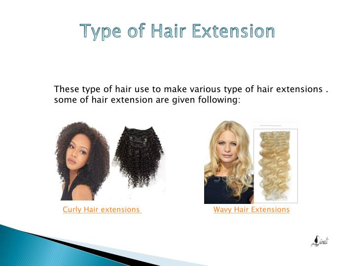 Type of Hair Extension