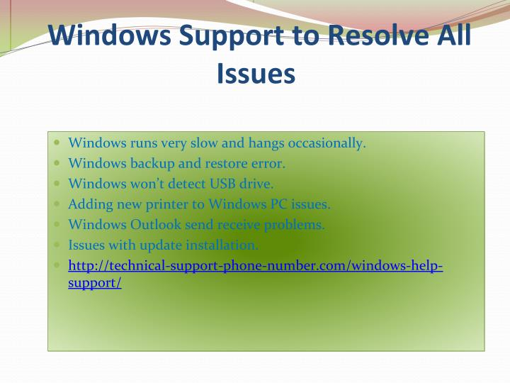 Windows Support to Resolve All