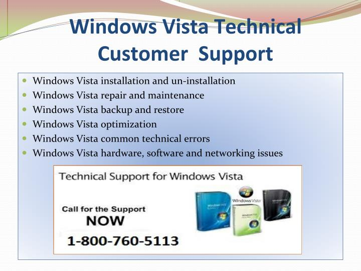 Windows Vista Technical