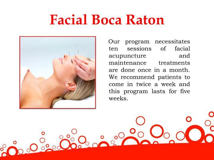 Facial Boca Raton