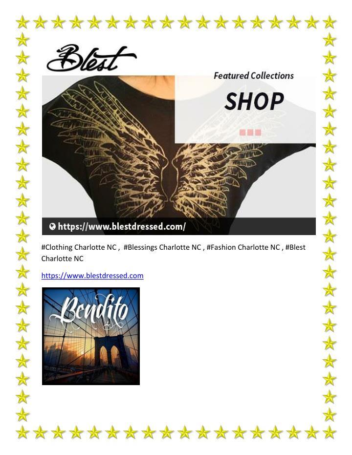 #Clothing Charlotte NC ,  #Blessings Charlotte NC , #Fashion Charlotte NC , #Blest
