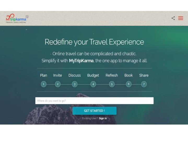 Mytripkarma the all in one social travel planning and booking app