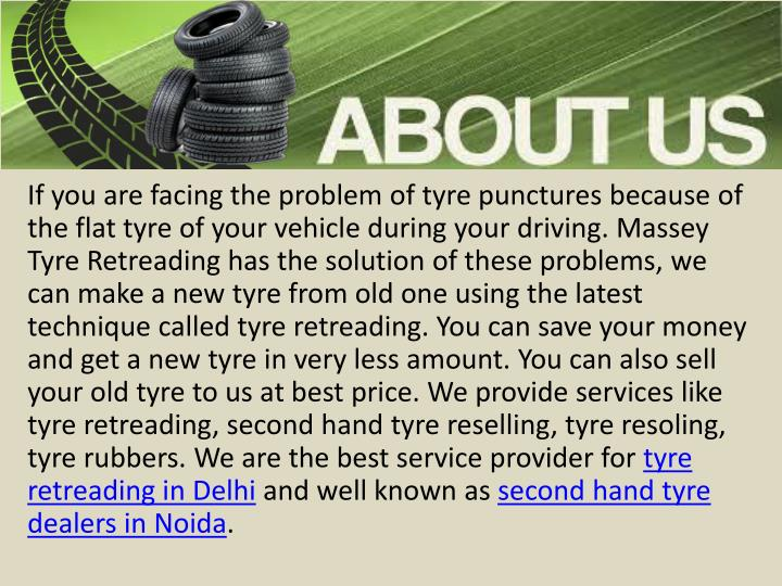 If you are facing the problem of tyre punctures because of