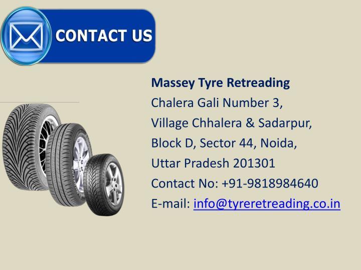Massey Tyre Retreading