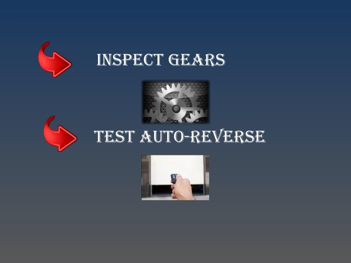 Inspect Gears