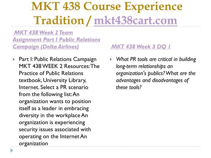 MKT 438 Course