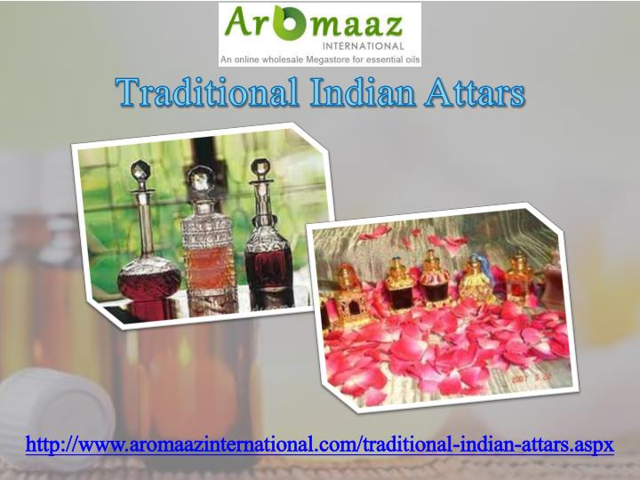 Traditional Indian Attars