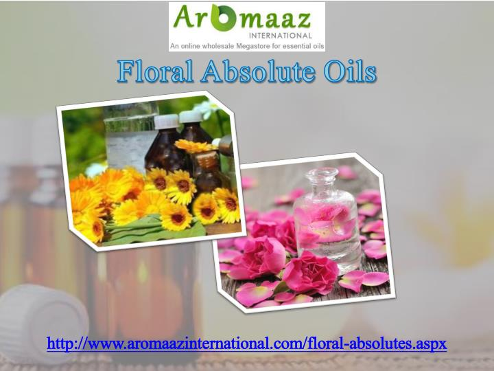 Floral Absolute Oils