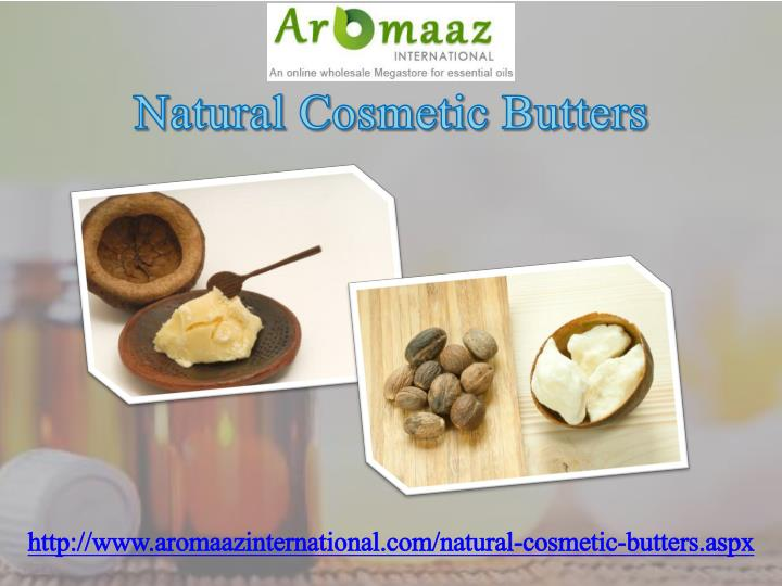 Natural Cosmetic Butters