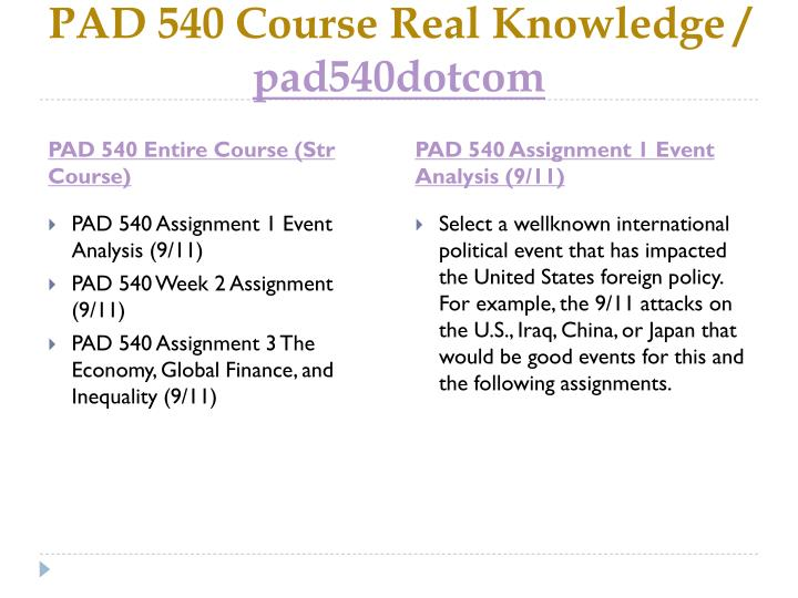 Pad 540 course real knowledge pad540dotcom1