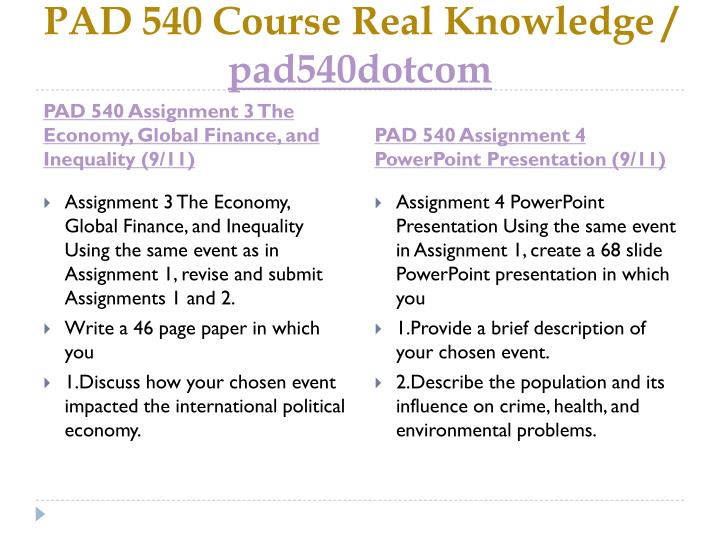 Pad 540 course real knowledge pad540dotcom2