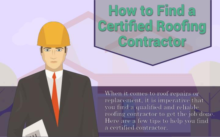How to find a certified roofing contractor r k roofing